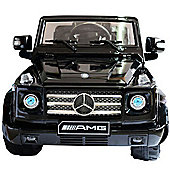 Homcom 12V Kid Ride On Car Mercedes Benz G55 Toy With R/C
