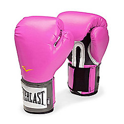 Everlast Pink Pro Training Gloves 8oz