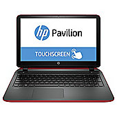 HP Pavilion 15-p058na Beats Audio 156-inch Laptop, AMD A8, 8GB RAM, 1TB - Red