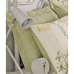 Dreams n Drapes Botanique Green Oxford Pillowcases - Pair