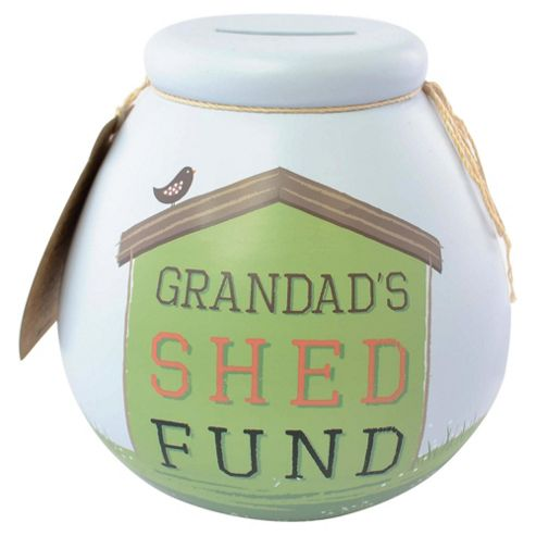 Grandads Shed Fund Pot of Dreams