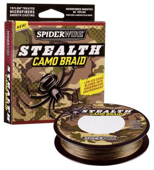 Spiderwire Stealth Camo Braid 300 Yards 30lb