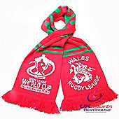Official Wales Rugby League World Cup 2013 Supporters Scarf