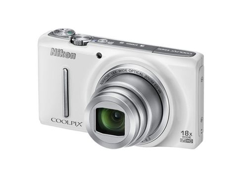 Nikon Coolpix S9400 Digital Camera, White 18MP 18x Zoom 3.0 inch LCD screen