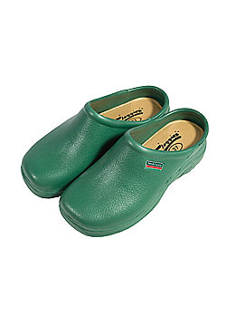 Town & Country Tfw687 Classic Cloggies Green Size 10