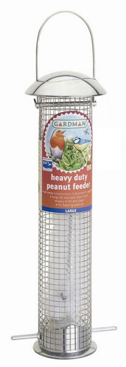 Heavy duty thistle seed feeder