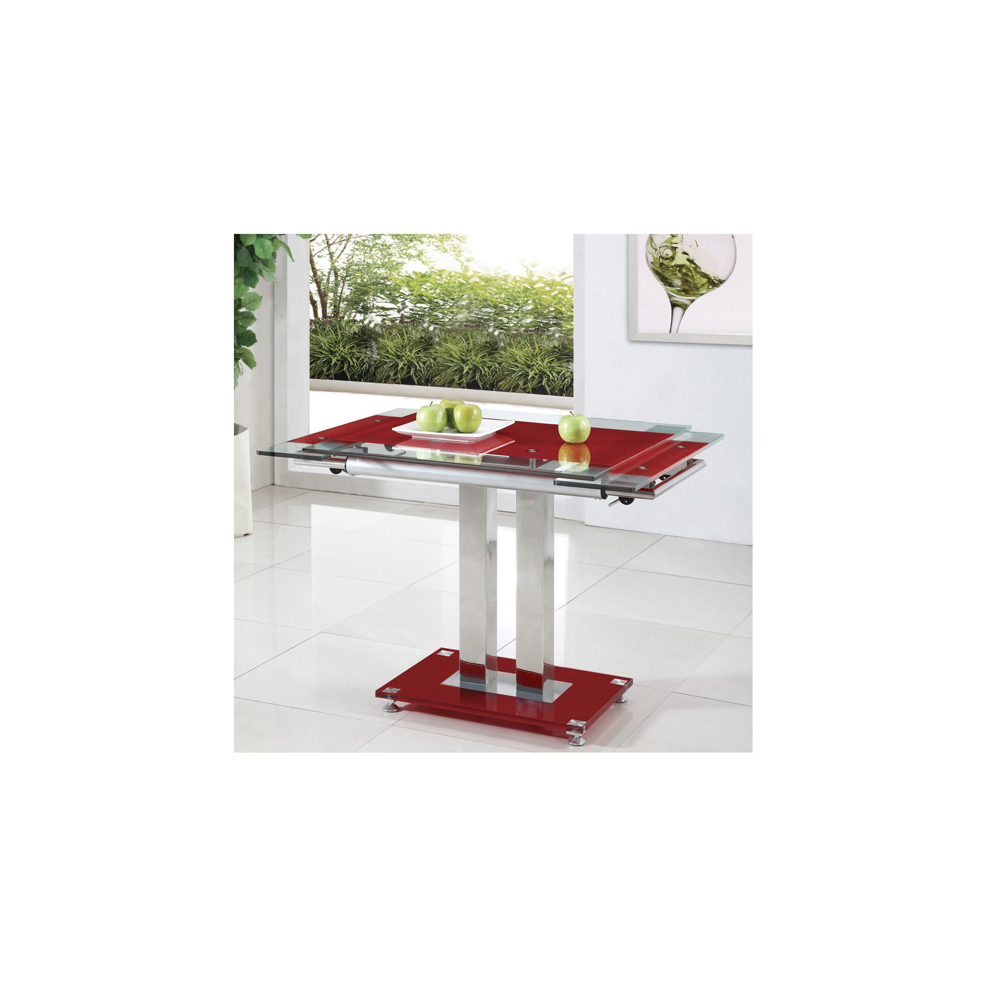 Giomani Designs Gio Coffee Table - Red at Tesco Direct
