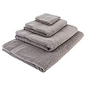 Tesco Hygro 100% Cotton  Towel, - Dove grey