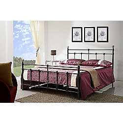 Birlea Atlas Bed Frame - Small Double - Black