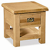 Alterton Furniture Pemberley Lamp Table with Drawer