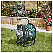 Tesco 25M Hose & Reel Set with Accessories