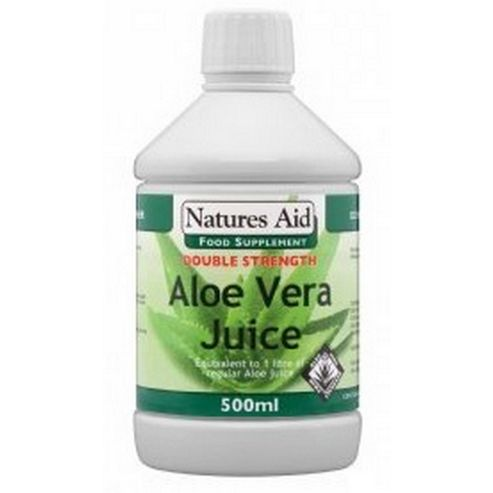 Natures Aid Aloe Vera Juice 500ml Liquid