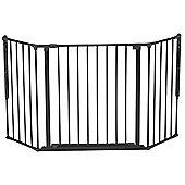 BabyDan Configure Gate Medium Black