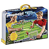 Playmobil 6857 Sports & Action Large Take Along Football Match with 2 players and 2 goalies