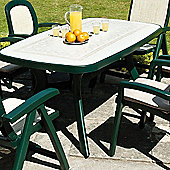 Nardi Toscana 165cm Ravenna Table in Green
