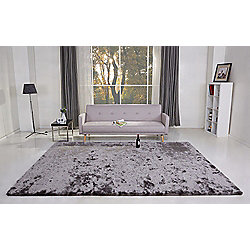 Leader Lifestyle Valencia Pearl Grey Tufted Rug - 160 cm x 230 cm (5 ft 3 in x 7 ft 7 in)