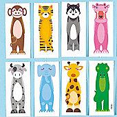 Animal Finger Tattoos - Pack of 20 children kids