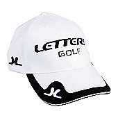 John Letters Mens Tour T9+ Golf Cap - Black