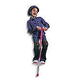 Riptide Light Up Big Air Pogo Stick - Pink