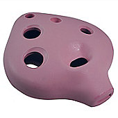Tiger 6 Hole Beginners Ocarina - Pink