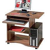 Aspect Design Computer Desk with Two Storage Shelves