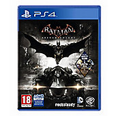 Batman: Arkham Knight + Wayne Tech Booster Pack DLC Exclusive to Tesco (PS4)