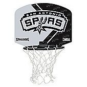 Spalding NBA Team Mini Basketball Set - San Antonio Spur