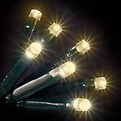 100 Warm White LED Static Lights