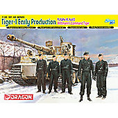 Dragon 6730 Tiger-1 Early Prod Pz.Kpfw.Vi Ausf.E Wittmann'S 1:35 Smart Model Kit