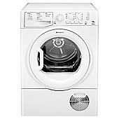 Hotpoint TCYL757C6P Condenser Tumble Dryer, 7.5Kg Load, C Energy Rating, Polar