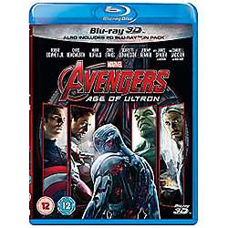 Avengers: Age of Ultron 3D & 2D Blu-ray