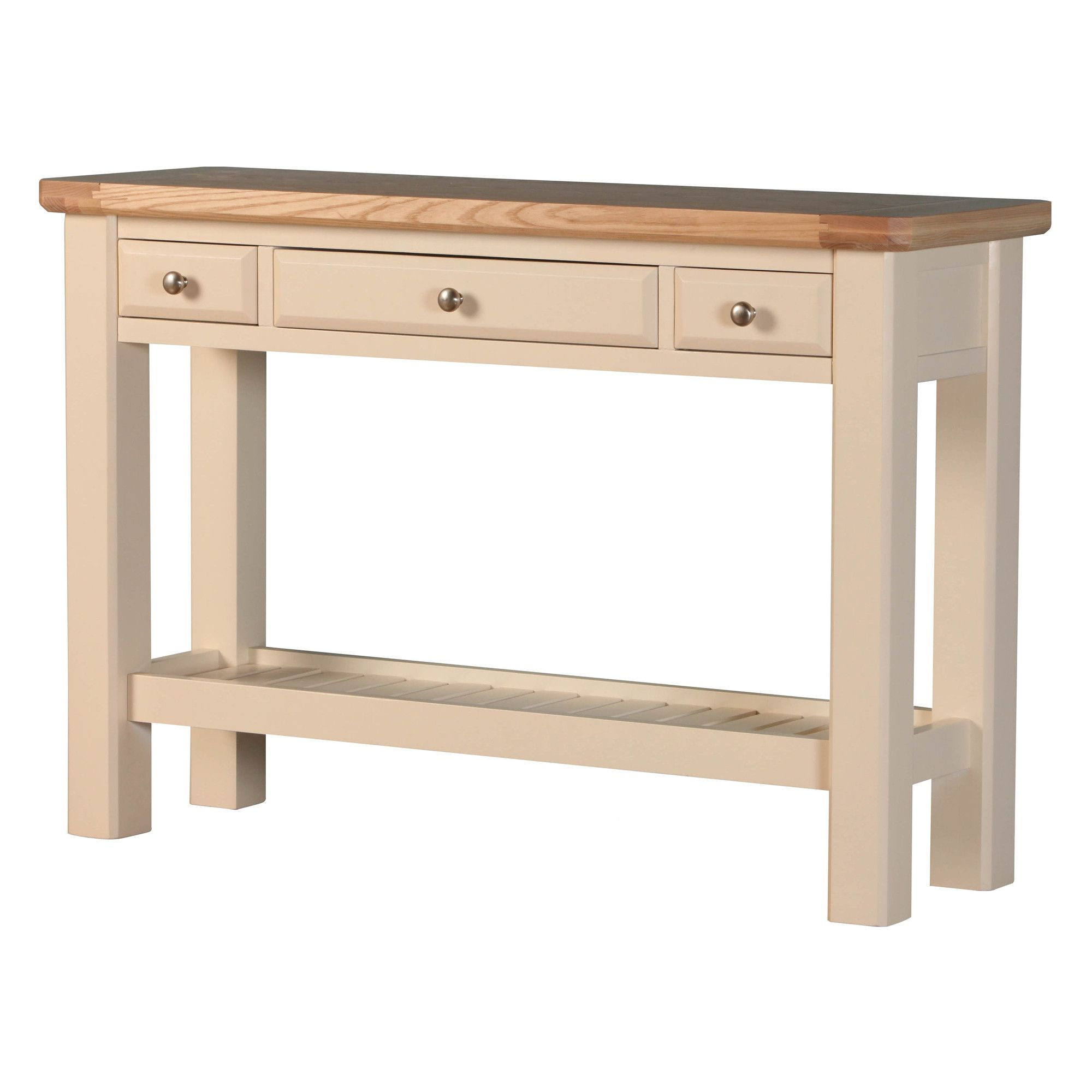 Altruna Rayleigh Console Table - Painted Cream