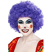 Economy Clown Wig in PURPLE