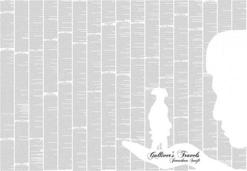 Spineless Classics Gulliver's Travels Wall Art
