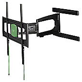 "Hama Ultraslim FullMotion TV Bracket for 37 to 65"" TVs - Black"