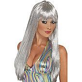 Adult Glitter Disco Wig