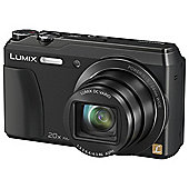 Panasonic Lumix DMC-TZ55EB-K Compact Camera 16mp 20x Tilt LCD Black
