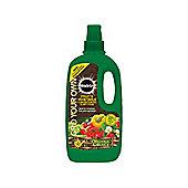 Miracle M-gro Org Choice Fruit& Veg Food 1L