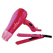 Lee Stafford Micro Dryer & Straightener Set