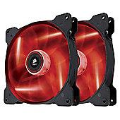 Corsair Air Series SP120 RED LED High Static Pressure Fan Dual Pack