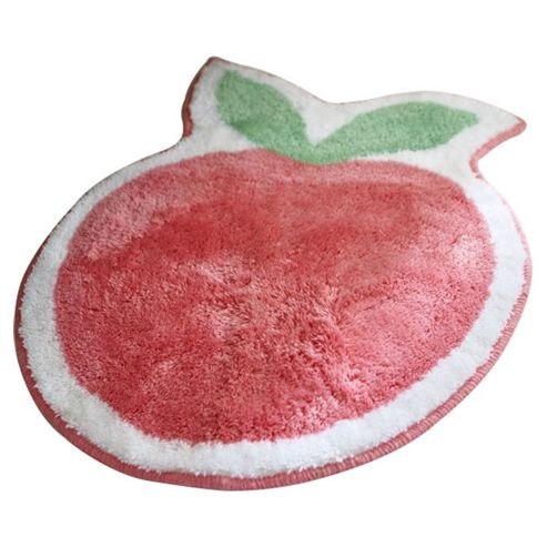 Catherine Lansfield Kids Pony Apple Rug - 70 cm H x 60 cm W (2 ft 3.5 in x 1 ft 11.5 in)