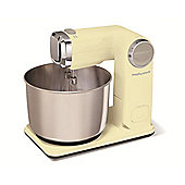 Morphy Richards 3.5L Stainless Steel Food Mixer - Cream