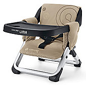 Concord Lima Folding Travel Chair (Almond Beige)