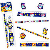 3 Little Owls 4-Piece Stationery Sets (Each)