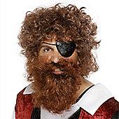 Smiffy's - Pirate Beard - Brown
