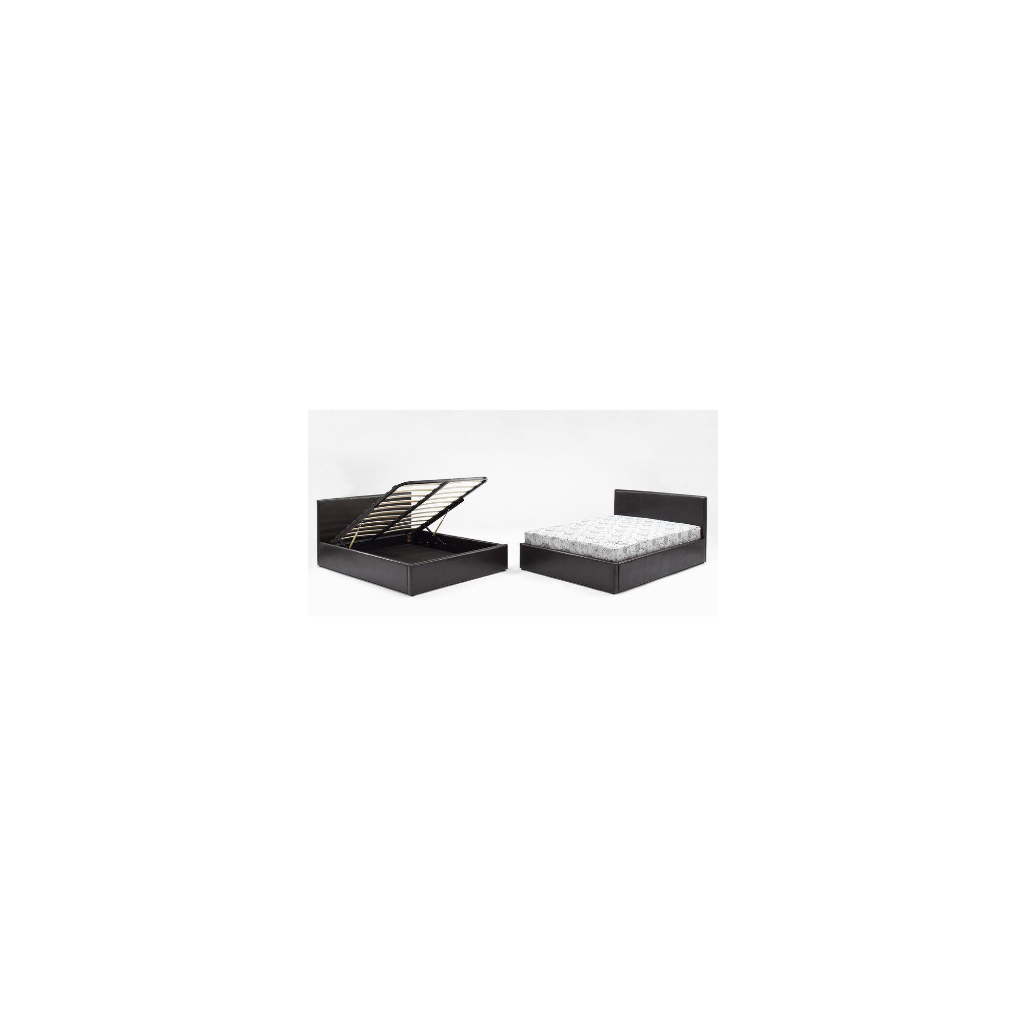 Interiors 2 suit Milan Storage Bedframe - Black - Double at Tescos Direct
