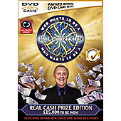 Who Wants To Be A Millionaire - Cash Prize Edition (Interactive DVD)