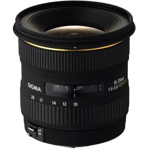Sigma 201927 10-20mm F/4-5.6 EX DC HSM Digital Camera Lens - Canon Fit