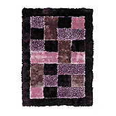 Oriental Carpets & Rugs Noble House Lilac Tufted Rug - 170cm L x 120cm W