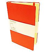 Moleskine Large Memo Pockets Red Cover